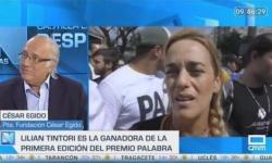 """Mr. César Egido in """"Castilla la Mancha Despierta"""""""
